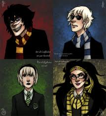 Harry Potter House Meme - crossover of the week harry potter homestuck