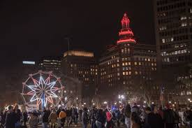 new haven ct tree lighting 2017 new haven tree lighting chris randall i love new haven