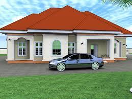 4 Bedroom Bungalow Floor Plan by 4 Bedroom Houses