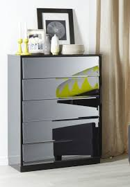 Black Mirrored Bedroom Furniture by 15 Best Bedroom Furniture Tallboys Chests Dressers Images On
