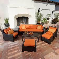 Best Patio Furniture Brands - rst brands deco 9 piece patio dining set hayneedle