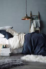 bedding set beautiful navy blue and grey bedding crest home