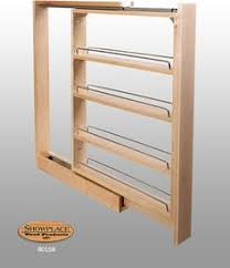 Pull Out Kitchen Shelves by 3 Inch Pullout Kitchen Spice Rack Cabinet Pull Out Cabinet Spice