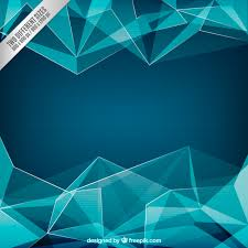triangle pattern freepik blue polygons background vector free download