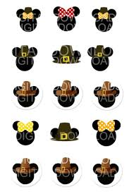 free thanksgiving mickey mouse minnie digital graphic 1