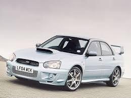 subaru sedan 2004 2004 subaru impreza wr1 pictures history value research news