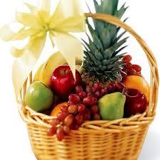 basket of fruits big 2 step 3 100 roses arrangement in a basket