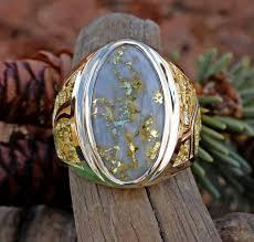 gold quartz necklace images Wedding rings natural gold nugget jewelry alaskan gold quartz jpg