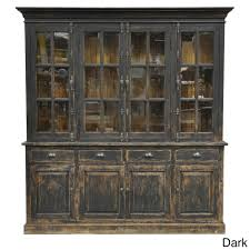 wilson reclaimed wood 82 inch china cabinet by kosas home by kosas