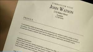 Curriculum Vitae Medical Doctor Dr John Watson U0027s Cv Searching For The Secrets
