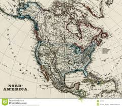 Nord America Map by Antique Map Of North America 1875 Stock Image Image 858791