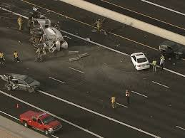 crash involving rolled cement truck blocked northbound loop 101 in