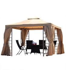 Replacement Canopy by Replacement Canopy For Suntime Deluxe 3m Beige Gazebos Amazon Co