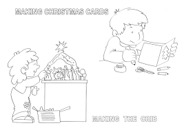 europe christmas coloring pages catalonia