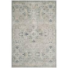 safavieh persian garden gray blue 8 ft x 11 ft area rug peg614l