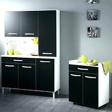 buffet de cuisine bas meuble de cuisine noir laque simple meuble cuisine laque noir