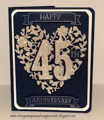 45th wedding anniversary i made for a high school and