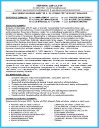 Best Resume Format Business Analyst by Simple Resume Sample For Call Center Templates
