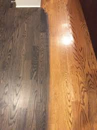 laying carpet hardwood
