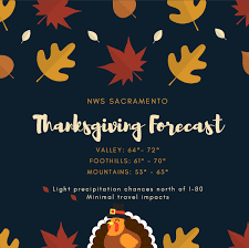nws sacramento on traveling on thanksgiving here s the