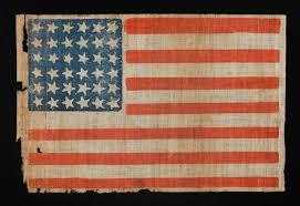 Dancing Flags Jeff Bridgman Antique Flags And Painted Furniture Civil War Era