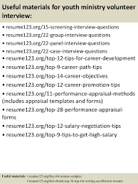 Volunteer Resume Samples by Youth Ministry Budget Template Contegri Com