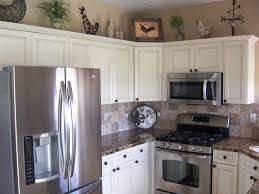 off white kitchen cabinets with stainless appliances white kitchen hutches with stainless steel design idea and decors