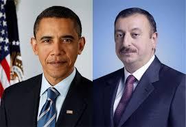 İlham Əliyev Barak Obamanı təbrik edib