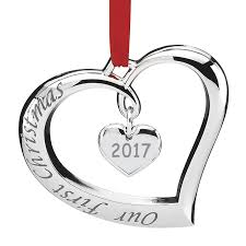 our forevermore ornament 2017 lenox