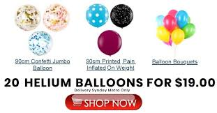 balloon delivery sydney sydney party shop party supplies