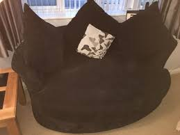 Cuddle Cushion Dfs Black Cuddle Chair With 3 Black Cushions And A Butterfly