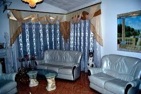 Schlafzimmer In Blau Braun Extravaganter Wohnzimmer Vorhang Im Klassischen Stil In Blau Und Braun