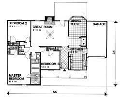 floor plans 3 bedroom ranch ranch style house plan 3 beds 2 00 baths 1350 sq ft plan 30 127