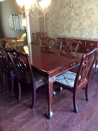 Mahogany Dining Room Furniture Dining Room Suite Stanley Furniture Mahogany In Cuyahoga County