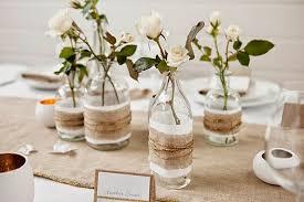 deco mariage boheme chic ordinaire rondin de bois centre de table 18 decoration table