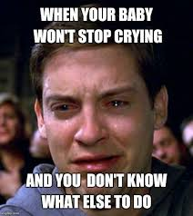 Crying Baby Meme - my crying baby in this movie theater should quiet down soon comediva