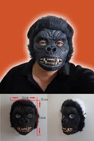 monkey halloween costume halloween baboon monkey orangutan leopard latex animal face mask