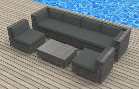 Modular Wicker Patio Furniture - oahu 7pc ultra modern wicker patio set www urbanfurnishing net