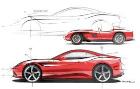 ferrari drawing ferrari exhibition at london design museum auto u0026design