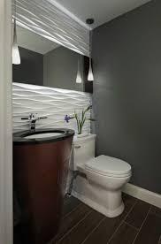 wandgestaltung gäste wc die besten 25 tapete für kleine bäder ideen auf