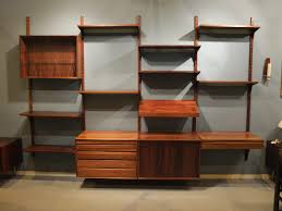 Modular Wall Units Mid Century Modular Rosewood Wall Unit By Poul Cadovius For Cado