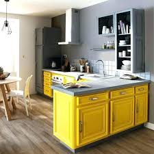 peinture cuisine jaune cuisine jaune moutarde cuisine cuisine moutarde avec blanc couleur