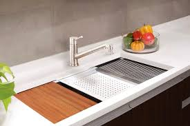 Large Ceramic Kitchen Sinks by Kitchen 3 Bowl Kitchen Sink Stainless Steel Countertop With Sink