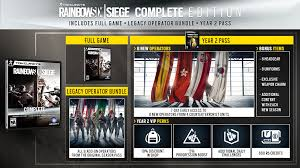 Six Flags Summer Pass Rainbow Six Siege Year 2 Content Outlined New Editions Now