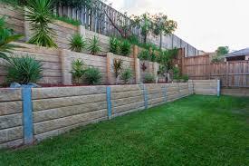 Tiered Backyard Landscaping Ideas Garden And Backyard Retaining Walls Garden Blocks Backyard And