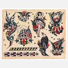 vintage tattoo flash spit shade antique tattoo art tthu thats