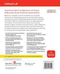 oracle e business suite financials handbook 3 e oracle press