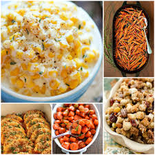 25 most pinned side dish recipes for thanksgiving and