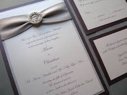 Purple And Silver Wedding Invitations Plum Purple And Silver Wedding Invitations Pure Elegance U2026 Flickr