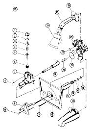 parts of a bathtub faucet kenmore homart tub faucet with shower parts model 2542097